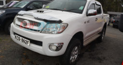 TOYOTA HILUX DOUBLE CAB – WHITE